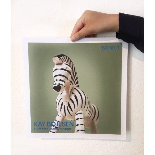 Kay Bojesen plakat Zebra