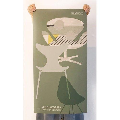 Arne Plakat 40 x 85 GRØN