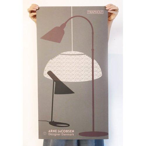 Arne Plakat 40 x 85 GRÅ