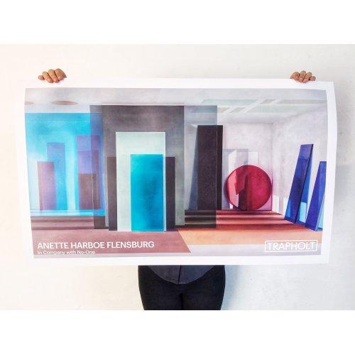 Anette Harboe Flensburg Plakat BLÅ