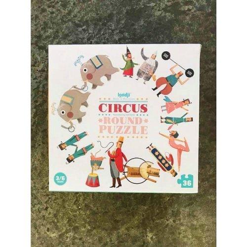 Cirkus Round Puzzle