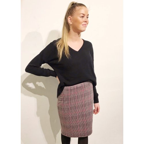 Penny Skirt Pink Dice