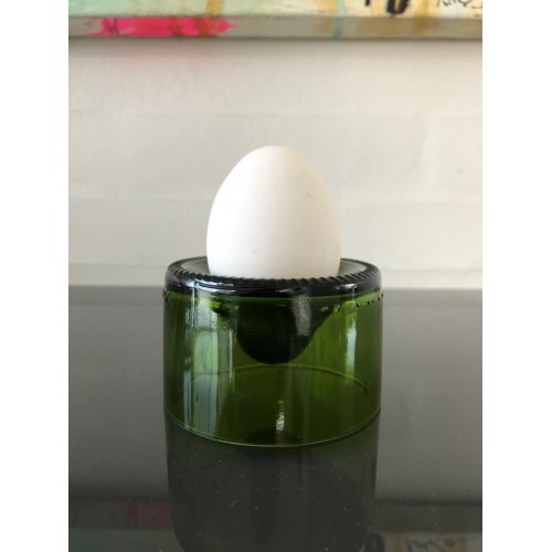 Re Use Egg Cup Green