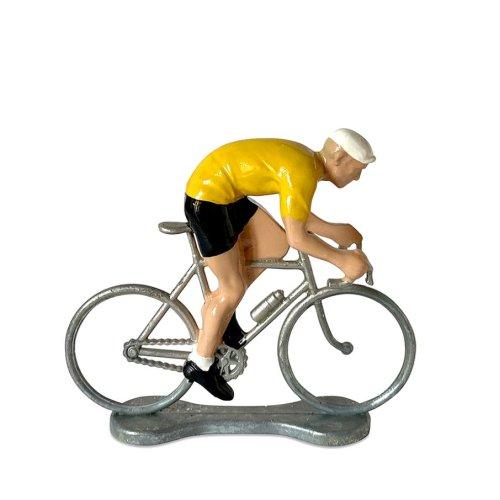 Cykelrytter Gul Førertrøje Sprint