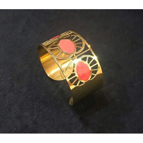 Armbånd Cloe Guld/Coral