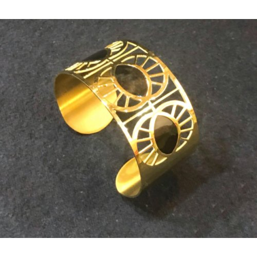Armbånd Cloe Guld/Sort