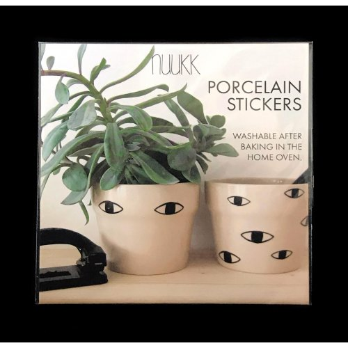 Porcelain Stickers Eyes