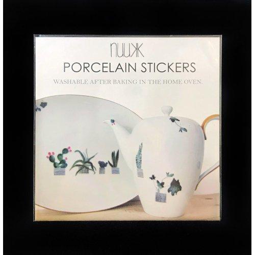 Porcelain Stickers Plants