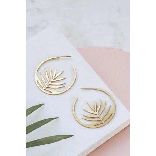 Øreringe Palm Hoop