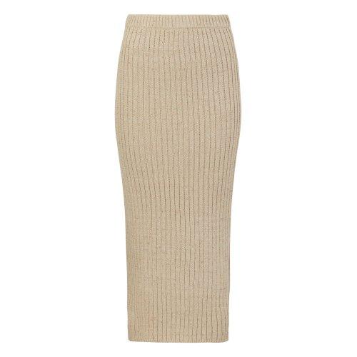 Amber Midi Slim Knit Skirt