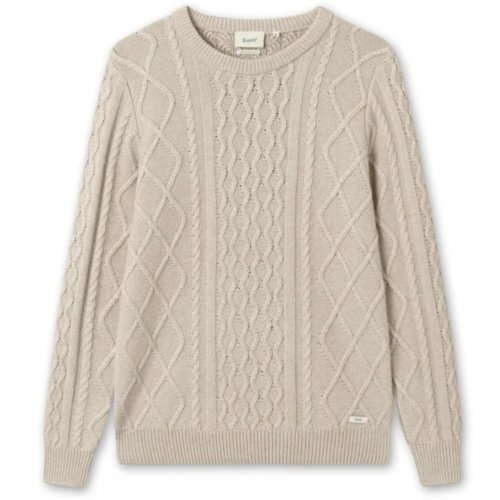 Grow Woll Cable Knit