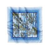 Flora D Blue Striped