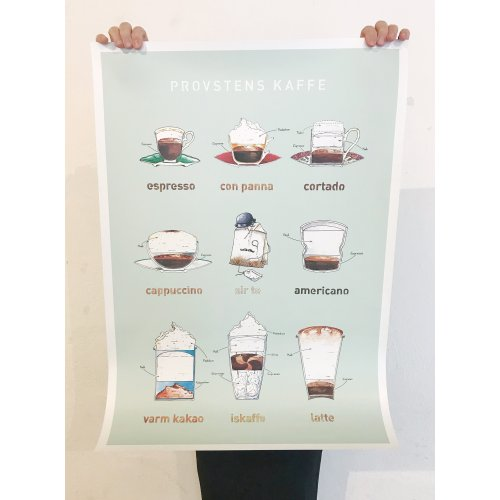 Coffeeprints 50x70