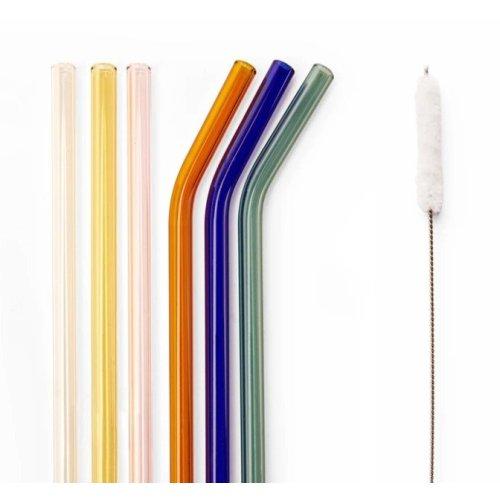 Glass Straws Reusable