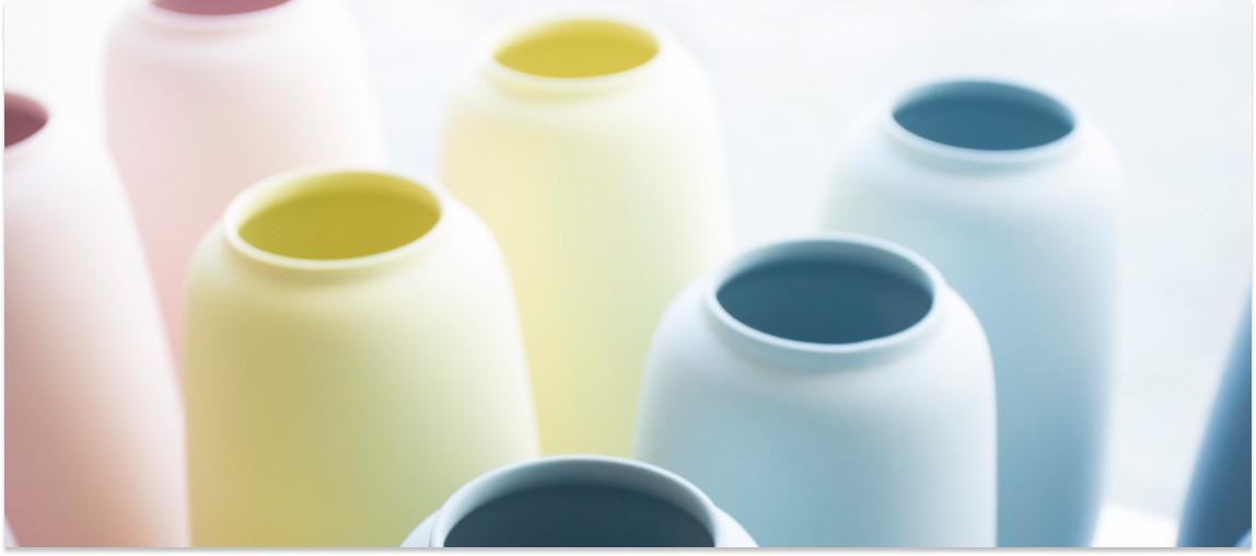 Køb flotte vaser hos Trapholt Designbutik