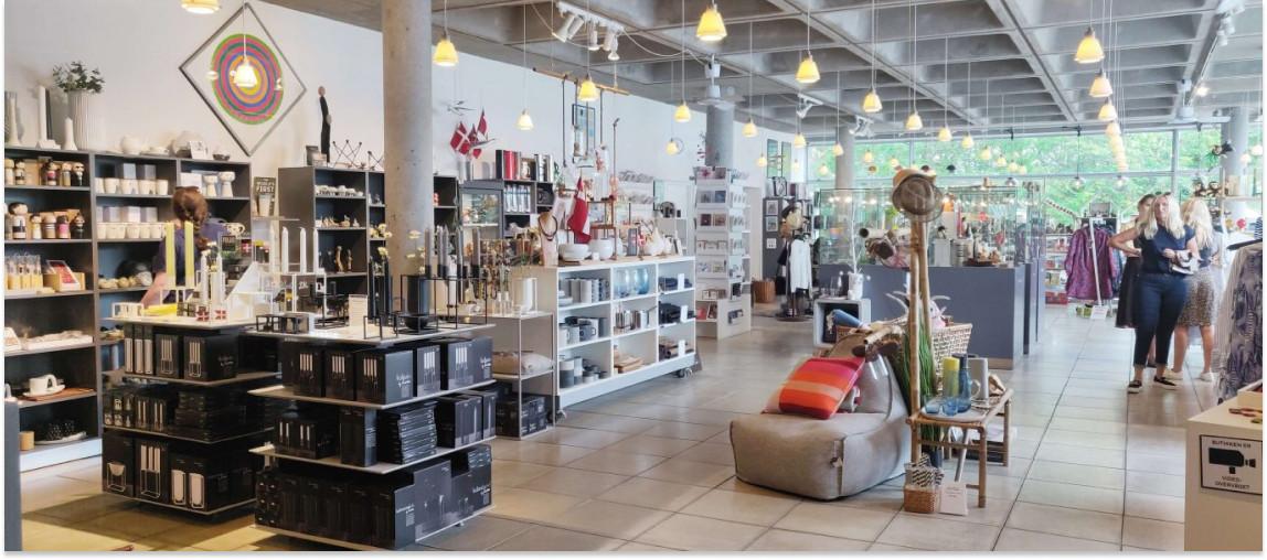 Trapholt Designbutik